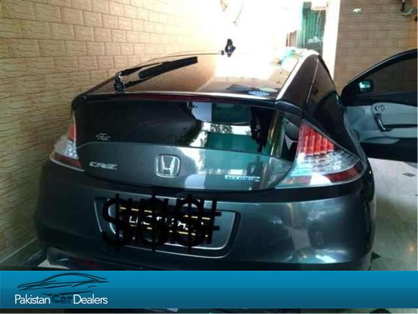 Used Honda Cr Z Sports Hybird Car For Sale From Adil Sheikh Lahore