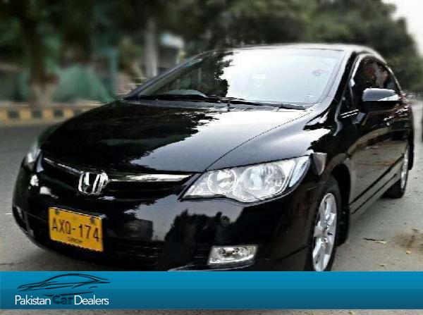 Used honda civic vti oriel prosmatec car for sale from for Used car motors for sale