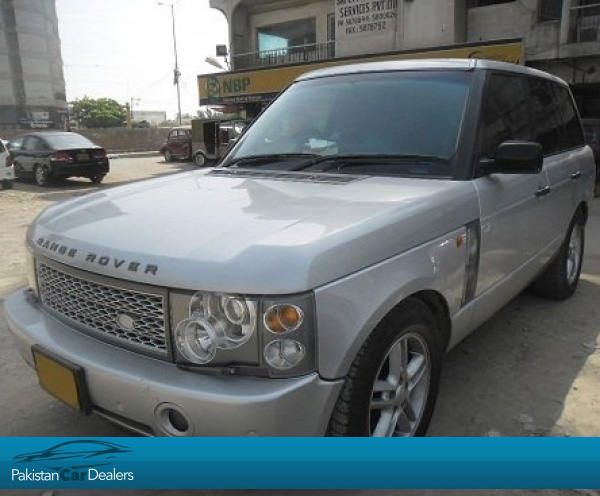 Used Land Rover Range Rover Car For Sale From Car Deals Karachi