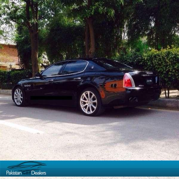 used maserati quattroporte car for sale from premium cars lahore car id 294 on pakistan car. Black Bedroom Furniture Sets. Home Design Ideas