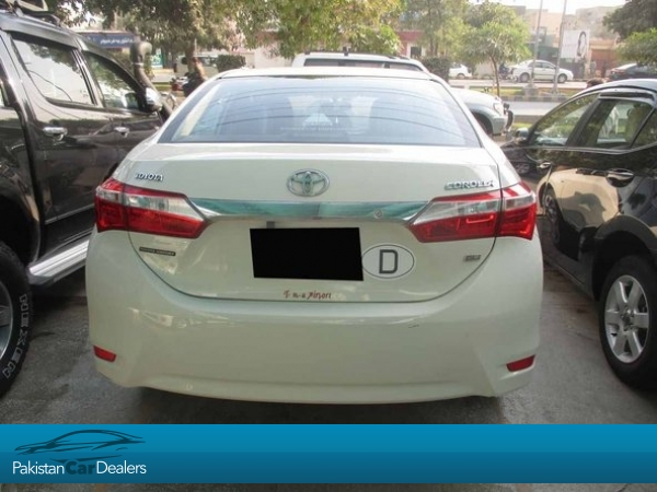 Used Toyota Corolla Gli Car For Sale From Auto Motives Lahore