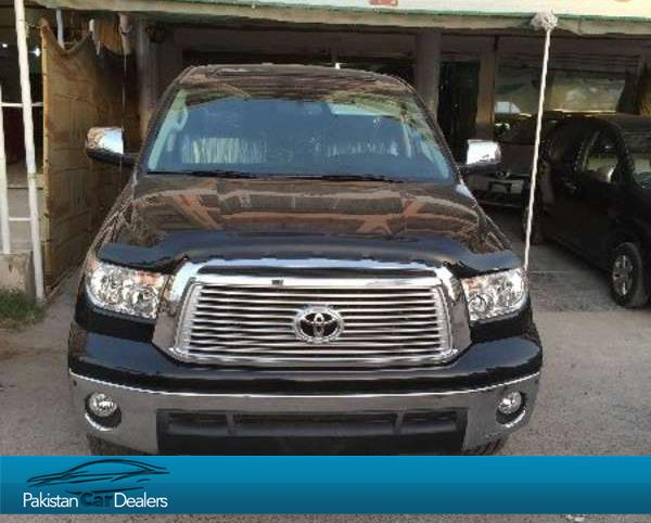 Used toyota tundra car for sale from gulf motors karachi for Toyota tundra motor for sale